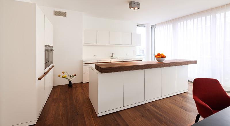In Einer Komplett Eingerichteten Show Wohnung Können Sich Interessenten Von  Der Atmosphäre Vor Ort überzeugen.