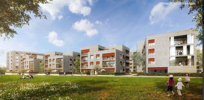 Immobilienreport m nchen paul gerhardt allee meck architekten - Meck architekten ...